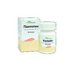 Pantotin caps 500 mg N40